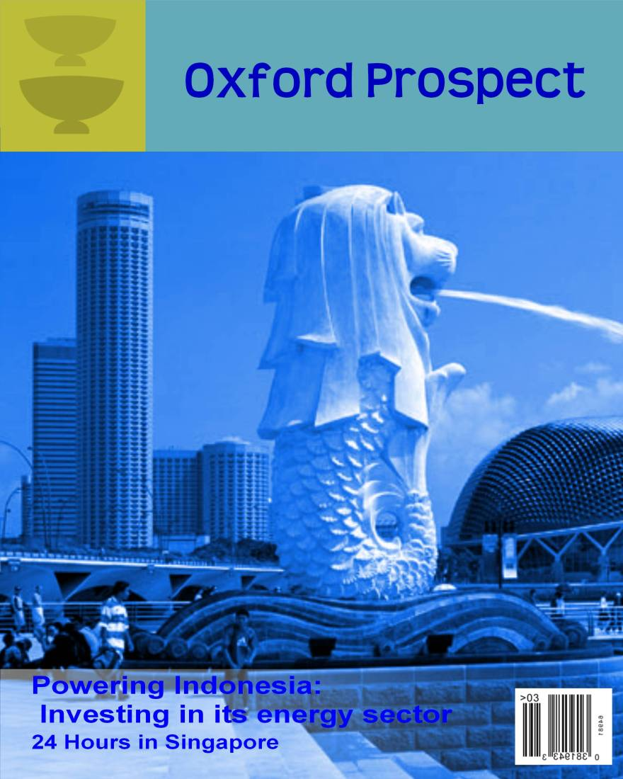Front cover of October 2010 edition of Oxfordprospect.co.uyk