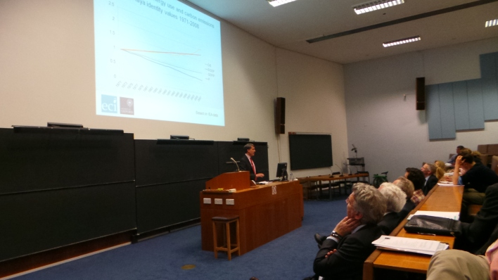 UK Energy Policy Day at Oxford University